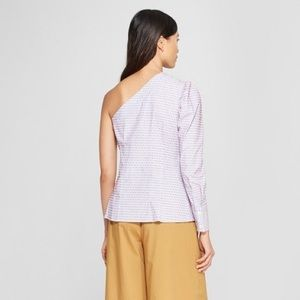 •MAKE OFFER• NWT WHO WHAT WEAR ONE SHOULDER TOP